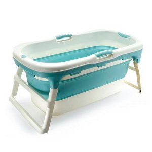 Banheira Grande Azul Baby Pil