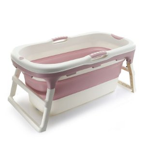 Banheira Grande Rosa Baby Pil