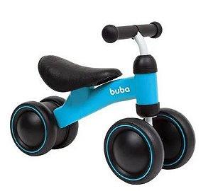 Bicicleta de equilíbrio 4 rodas Buba Azul