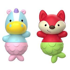 Brinquedo de Banho Skip Hop Unicórnio e Raposa