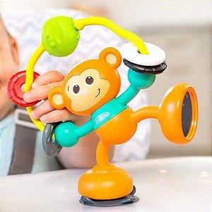 Brinquedo Macaco de Atividades com Sucção na Base pro Cadeirão