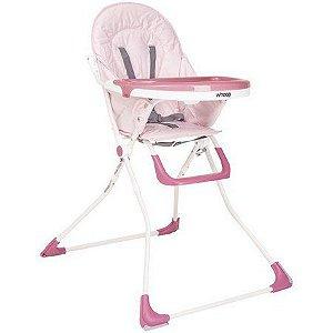 Cadeira de alimentação Vectra Plus Rosa