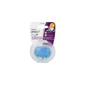 Chupeta Philips Avent Ultra Air 6 a 18 Meses Azul