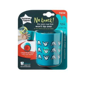 Copo Anti-Queda No Knock Tommee Tippee 1 Und - 190ML Azul - TT035