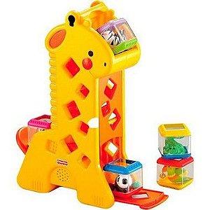 Girafa Fisher Price Blocos Surpresa