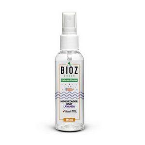 Higienizador Baby Lavanda Bioz Green 115ml