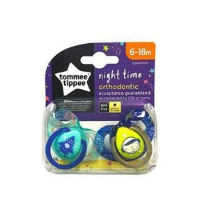 Kit 2 Chupetas Night Time Tommee Tippe (6 - 18 Meses)