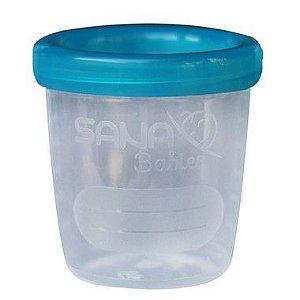 Kit com 4 potes para armazenamento de leite