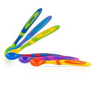 Kit de Colheres Coloridas Nuby