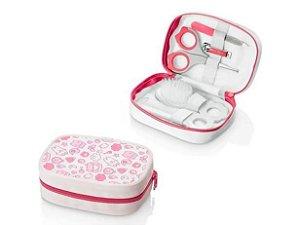 Kit Higiene Multikids Baby Rosa