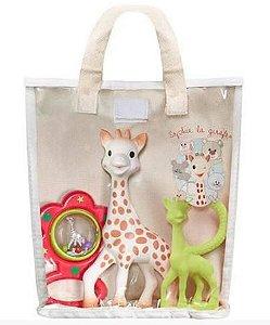 Kit Presente Fresh Touch Sophie La Girafe Verde