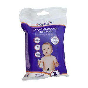 Lenços umedecidos com solução salina para nariz Baby Bath