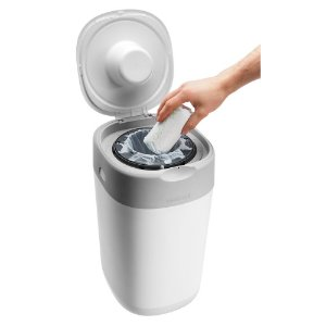 Lixeira para fraldas Twist and Click Tommee Tippee