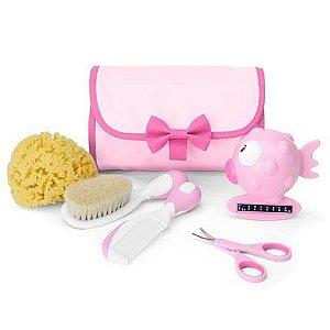 Meu Primeiro Kit de Beleza Chicco Rosa