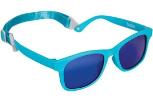 Óculos de Sol Baby Azul Com Alça Ajustável Buba