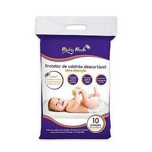Protetor para Colchão Descartável Baby Bath (Embalagem com 10 unidades)