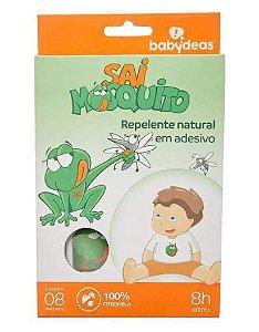 Sai Mosquito Adesivo Repelente 100% Natural