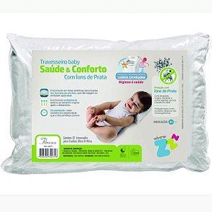 Travesseiro Baby Saúde e Conforto - Ions de Prata