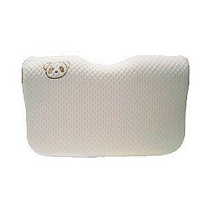 Travesseiro Ergonômico com Memória Clingo (Fibra de Bambu)