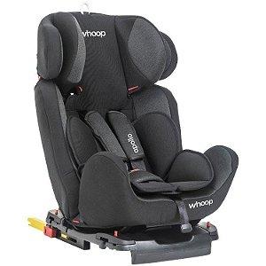 Cadeira Auto Apollo com Isofix Preta (0-36kg)
