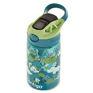 Garrafinha Infantil Autospout  Tritan 414ml - Dino Verde