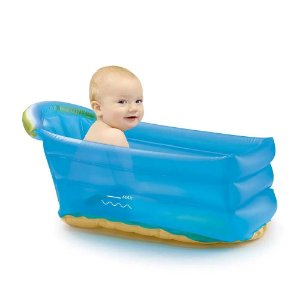 Banheira Inflável Bath Buddy Azul