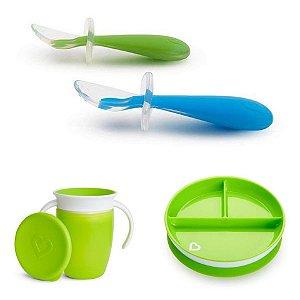 Kit Introdução Alimentar Munchkin Verde