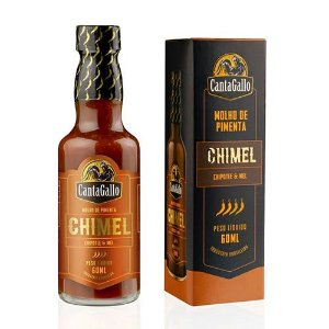 Molho de Pimenta Chimel Cantagallo (Chipotle & Mel) 60ML