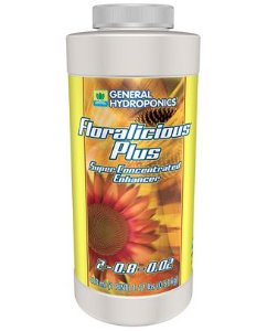 Fertilizante Floralicius Plus 237ml - General Hydroponics