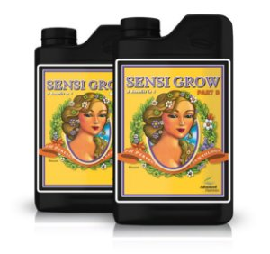 Sensi Grow Part A + Sensi Grow Part B (Ph Perfect) 1 litro - Advanced Nutrients