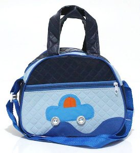 Bolsa Infantil Pequena Azul Atacado 33-5