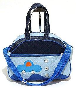 Bolsa Infantil Azul Atacado 34-2