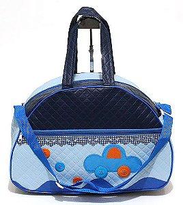 Bolsa Infantil Grande Azul Atacado 35-2