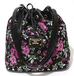 Bolsa Saco Floral Pequena Atacado 22-39
