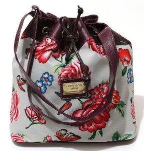 Bolsa Saco Floral Pequena Atacado 22-35