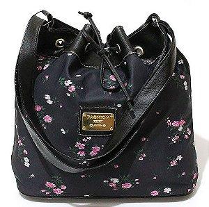 Bolsa Saco Floral Pequena Atacado 22-33
