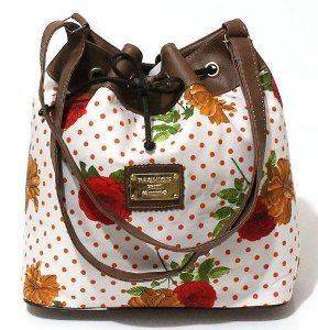 Bolsa Saco Floral Pequena Atacado 22-53