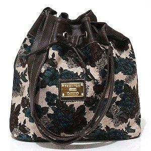 Bolsa Saco Floral Pequena Atacado 22-20
