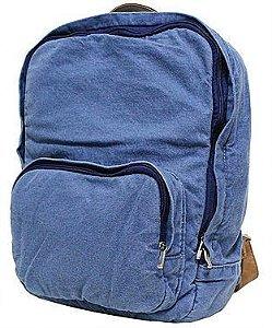 Mochila Jeans Azul Claro Atacado G074