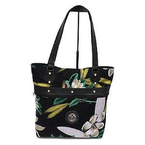 Bolsa de Lona Floral Atacado 44-95