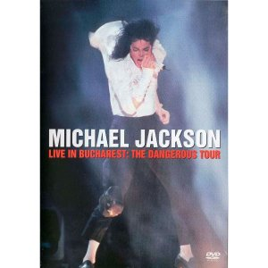 DVD Usado Original Michael Jackson - Live In Bucharest: The Dangerous Tour