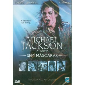 DVD Original Usado Michael Jackson - A História Sem Máscaras