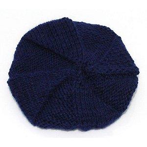 Boina de Lã Azul