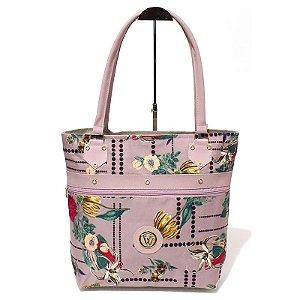 Bolsa de Lona Floral Atacado 44-81