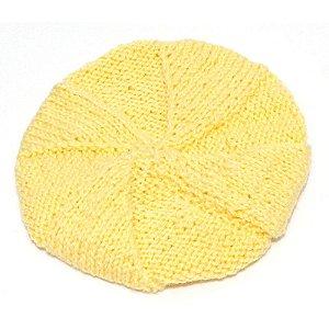 Boina de Lã Amarela