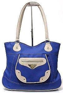 Bolsa Feminina Azul Atacado 13-9