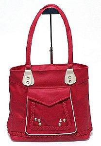 Bolsa Feminina Vermelha Atacado 05-27