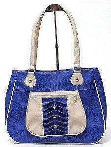 Bolsa Feminina Azul Atacado 04-7