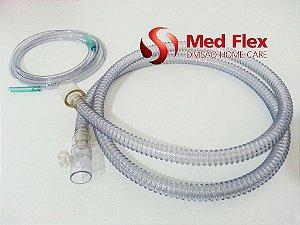 Circuito Infantil com Válvula Exalatória, para BIPAP, em PVC