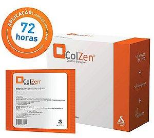 Curativo Antimicrobiano com Colágeno, Alginato e Nitrato de Cério, ColZen®, unidade